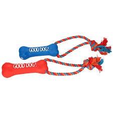 Zabawka sznurkowa z kością od firmy DINGO