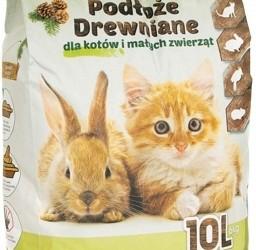 CHICO  10l - naturalne podłoże drewniane dla kotów i małych zwierząt