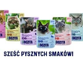 Nowość Bozita karmy mokre 85g dla kotów