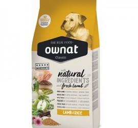 Ownat CLASSIC Lamb&Rice 15 kg