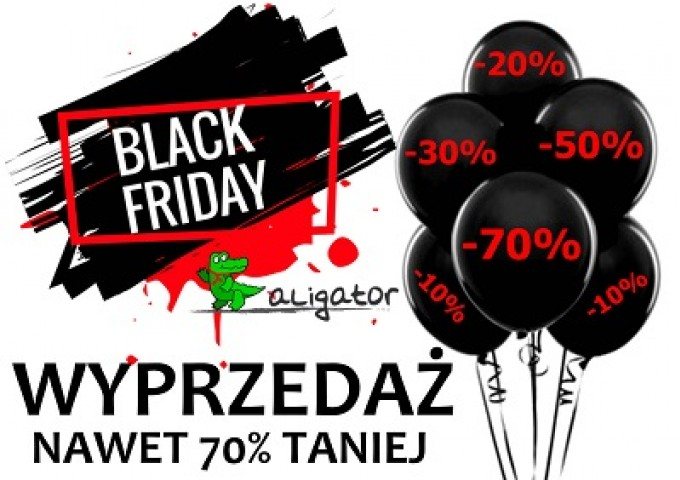 BLACK FRIDAY NADCIĄGA 23-25.11
