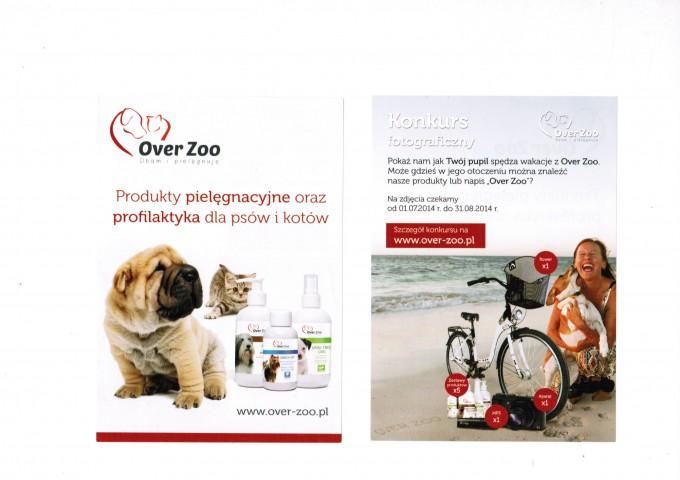 Konkurs fotograficzny Over Zoo.