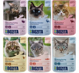 Bozita karmy mokre 85g dla kotów
