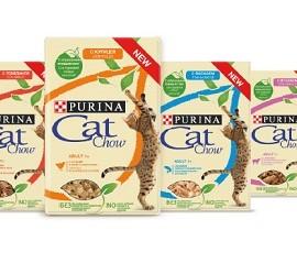 PURINA CAT CHOW 80g - mokra karma w saszetkach dla kotów