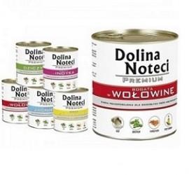 DOLINA NOTECI Premium 800g - mięsne puszki dla psów