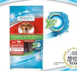 Bogar Plaque Stop Stics Medium - Naturalne przysmaki dentystyczne z algami