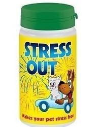 DERMAPHARM Stress Out - tabletki uspakajające dla zwierząt, 60 tabletek