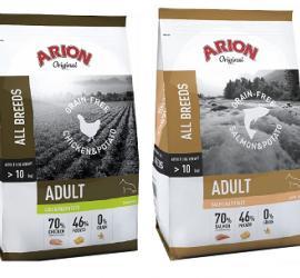 Nowość Arion Original Adult Grain Free 12 kg