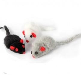 Pluszowa myszka DINGO - zabawka dla kota