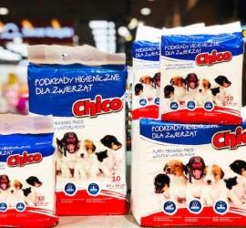 Podkłady higieniczne dla zwierząt firmy CHICO