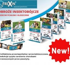 Frexin Obroże insektobójcze dla psów i kotów