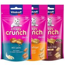 Vitakraft Crispy Crunch- chrupiące przysmaki dla kotów 60g
