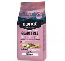 OWNAT Grain Free PRIME Mini Lamb 1 kg