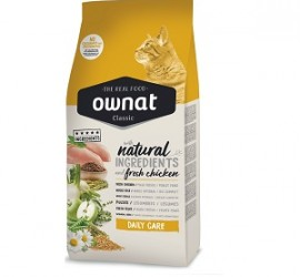 Ownat Daily Cat 1kg-  sucha karma dla kotów wszystkich ras