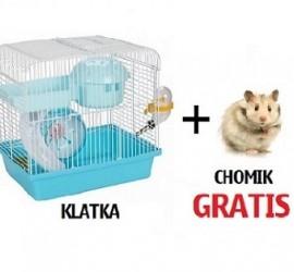 Przy zakupie klatki - chomik GRATIS