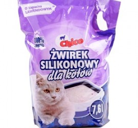 Chico Żwirek Silikonowy  dla kota 7,6 L