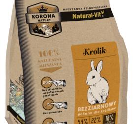 Natural-Vit Karma pełnoporcjowa dla KRÓLIKA 750g