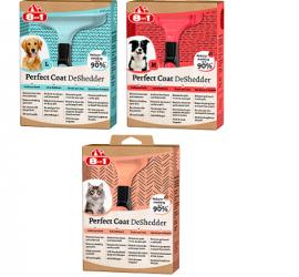 8in1 Perfect Coat DeShedder urządzenie do wyczesywania podszerstka dla psów i kotów