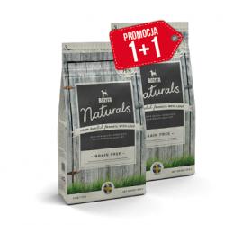 Bozita Naturals Grain Free 950g + 950g GRATIS - karma bezzbożowa dla psów z alergiami pokarmowymi