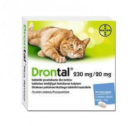 Drontal Tabletka odrobaczająca dla KOTA