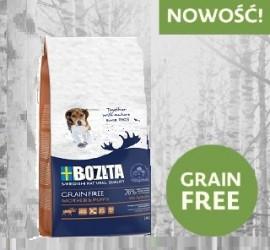BOZITA Dog Grain Free Mother&Puppy 2 kg -  bezzbożowa karma dla suk ciężarnych i szczeniąt