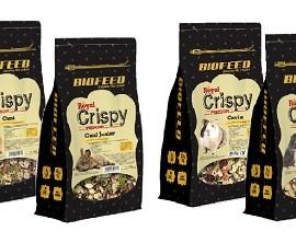 BIOFEED Royal Crispy 750g - karma premium dla królików, świnek morskich i mniejszych gryzoni