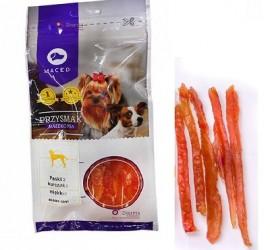 MACED miękkie paski z kurczaka 60 g - przysmak dla psów małych ras
