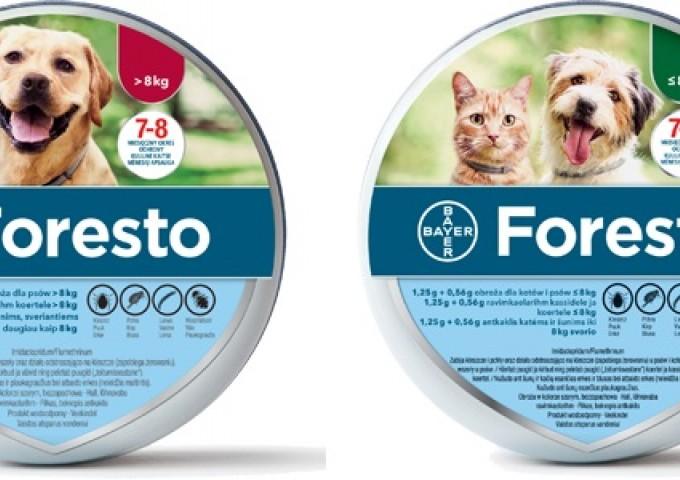 Foresto obroża dla psów i kotów - Innowacja w ochronie twojego pupila