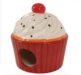 """ZOLUX """"Ciastko"""" - gniazdko ceramiczne dla gryzoni"""