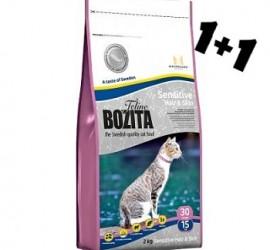 BOZITA SENSITIVE HAIR & SKIN 400g + 400g GRATIS