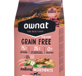 OWNAT Grain Free PRIME Mini Chicken&Turkey 3 kg