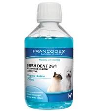 Płyn do jamy ustnej dla psa i kota firmy FRANCODEX - 250 ml