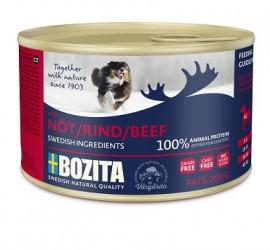 BOZITA - mięsne pasztety dla psów, puszki 200g