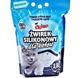 CHICO 3,8L - silikonowy, bezzapachowy żwirek dla kotów